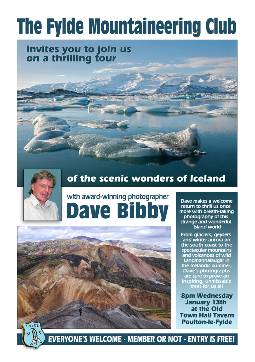 13th Jan 2016 – Scenic Wonders of Iceland – Dave Bibby